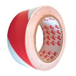 Scapa 2724 Premium PVC Hazard Warning Floor Tape Red & White