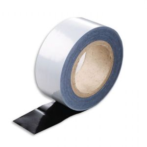 Black and White Protection Tape (Low Tack)