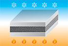 foam tape for thermal insulation